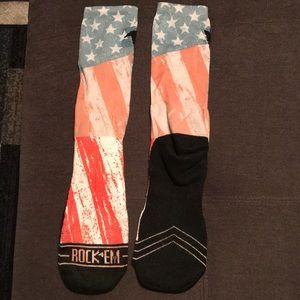 Rock 'em Socks American flag